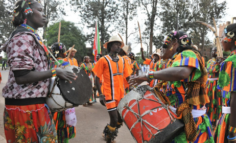 Kunama traditional dancers. Photo: www.madote.com