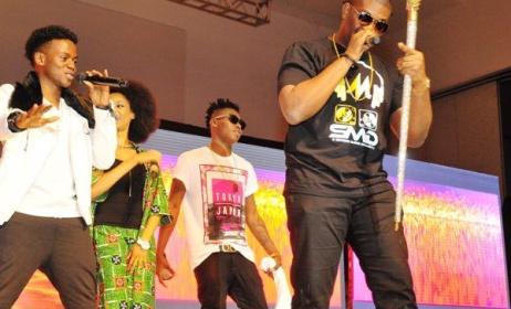 Marvin's Crew at the 2014 Rhythm Unplugged. Source: Bellanaija.com