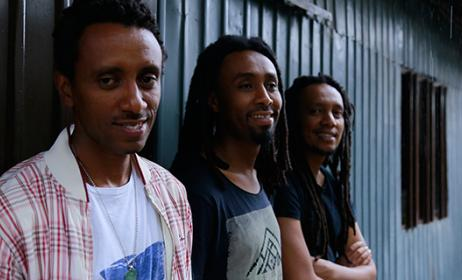 Ethiopian band Henock and the Mehari Brothers. Photo: www.addisfortune.net