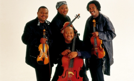 Soweto String Quartet. Photo: Soweto String Quartet