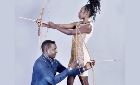 Suluman Chimbetu and Hope Masike. Photo: YouTube