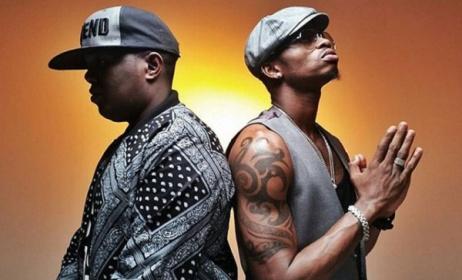 Tanzanian artists Ay & Diamond Platnumz. Photo: bingwa.co.tz