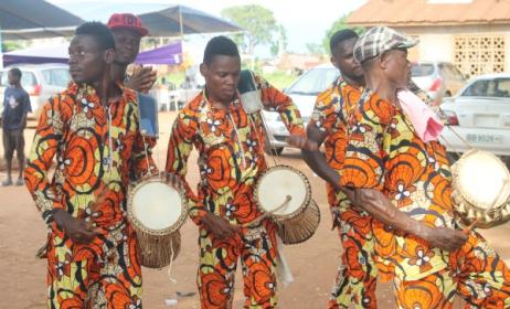 (Photo) : la musique traditionnelle au Togo