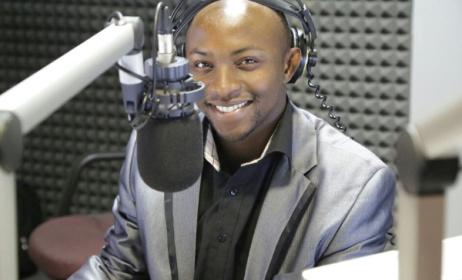 Zimbabwean radio DJ Eskay. Photo: Youth Village Zimbabwe
