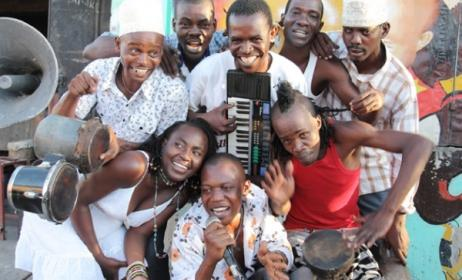 Members of Jagwa Music band. Photo:http: rwmf.net