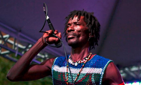 Janka Nabay has helped modernise bubu music. Photo: Multiflora Productions