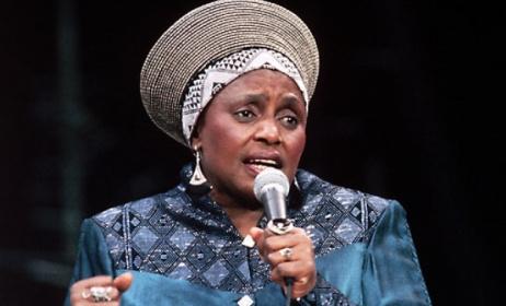 The late Miriam Makeba. Photo: African Success