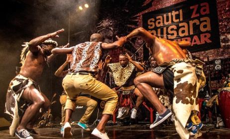 SA's Ihashi Elimhlophe at a previous Sauti za Busara festival. Photo: Peter Bennett