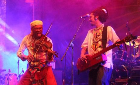 (Photo) : un des moments phares du Sauti Za Busara 2017 avec les Swahili Encounters