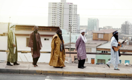 Malian band Tinariwen.  Photo: Marie Planeille