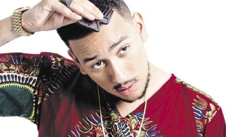 South African rapper AKA.
