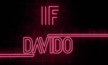 Art for Davido's 'If'