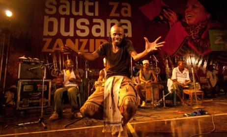 Jagwa Music from Tanzania performing at Sauti za Busara festival.