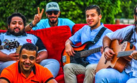 Egyptian band, Karakeeb performed at last year's KMF. Photo: karibumusic.org