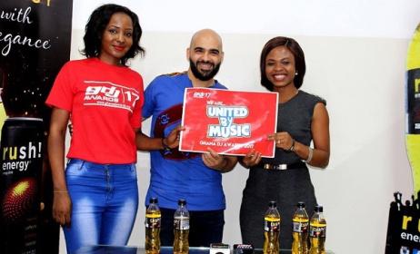 Representatives of Mequry Republic and Twellium Ghana at the announcement. Photo: Facebook