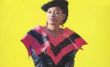 La chanteuse Tshala Muana. Photo: DR
