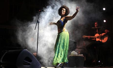 La chanteuse Lura (photo José-Sergio) au programme de l'AME 2017