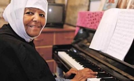 Emahoy Tsegué-Maryam Guèbrou now works for the Ethiopian Orthodox Patriarchy in Jerusalem.  Photo: YouTube,