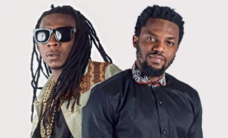 R2Bees is a contemporary hiplife duo.  Photo: Facebook