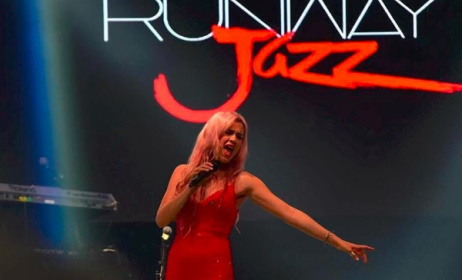 Joss Stone performing at Runway Jazz Lagos.  Photo: RJ