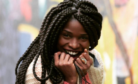 Cameroonian singer Reniss will be playing at Nyege Nyege.  Photo: Facebook/GPS