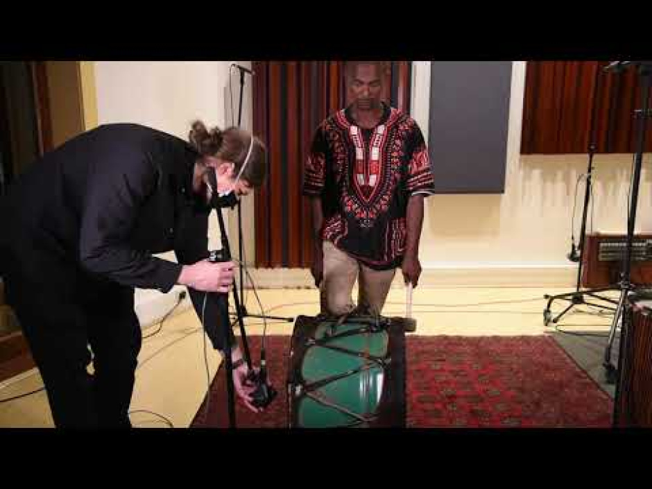 Capturing the sound of African instruments for recording and broadcast (part 1/6)