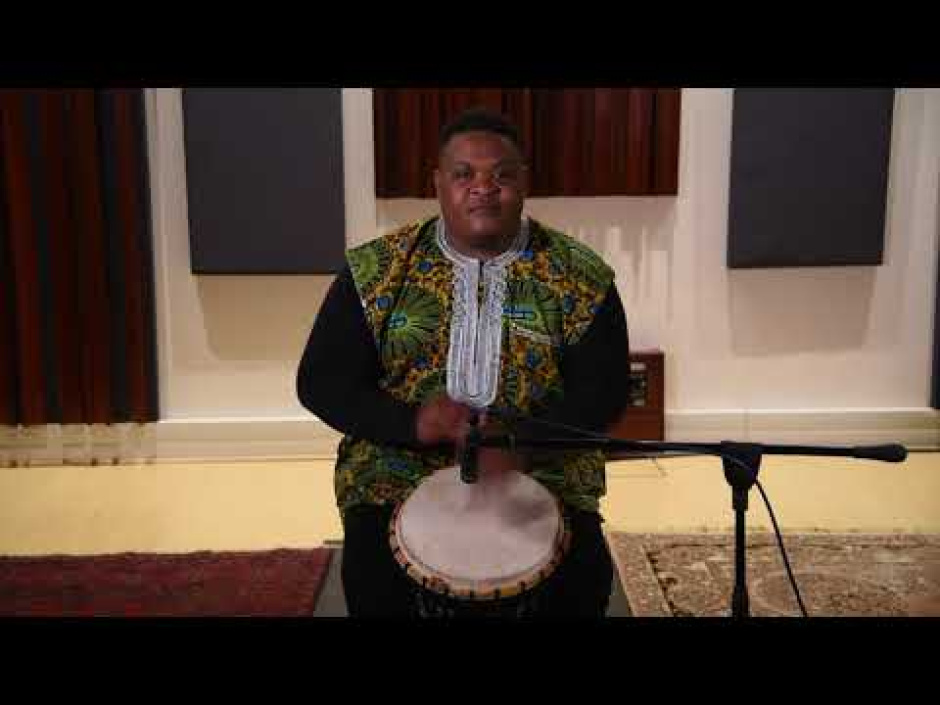 Capturing the sound of African instruments for recording and broadcast (part 3/6)